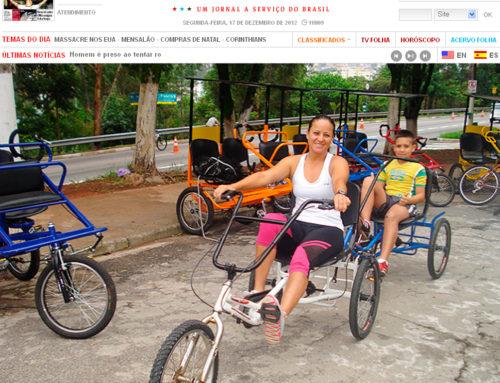 Matéria no site Folha de S.Paulo