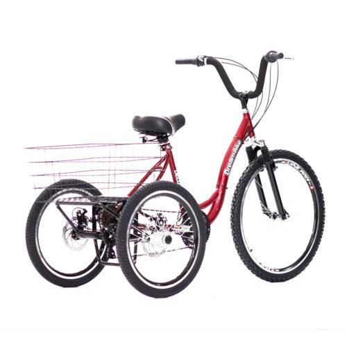 triciclo-rebaixado-marchas-vermelho
